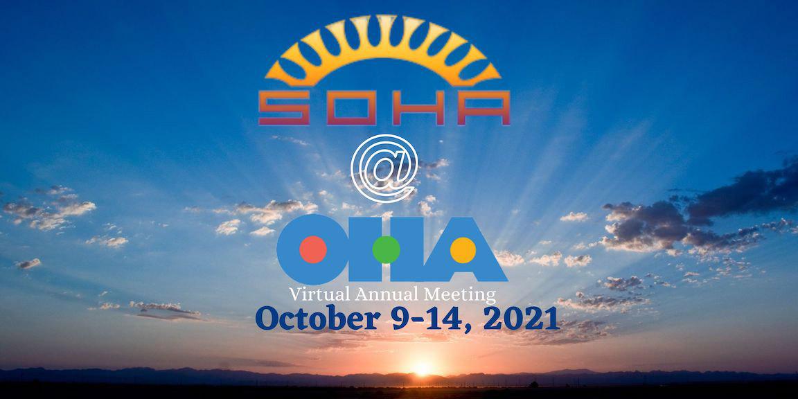 SOHA at OHA 2021 banner